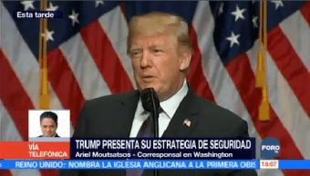 Trump Alista Plan Seguridad Nacional Donald Trump