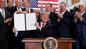 Trump reduce área dos parques nacionales