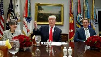 Trump, reunido con senadores para hablar del TLCAN y del presupuesto