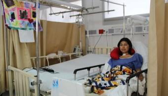 Dan de alta sobreviviente del sismo del 19 S CDMX