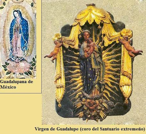 Virgen de Guadalupe de España