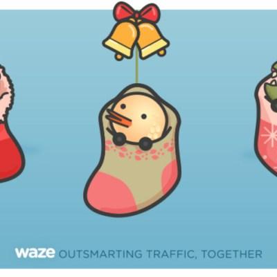 Waze te dice cómo escapar del estrés del tráfico de diciembre