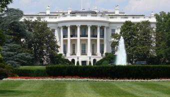 Arrestan a una persona afuera de la Casa Blanca