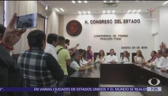 14 diputados del PVEM renuncian al partido en Chiapas