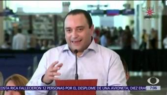 Roberto Borge será extraditado a México el 4 de enero