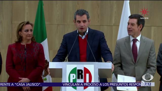 Ochoa, confiado en el triunfo del PRI