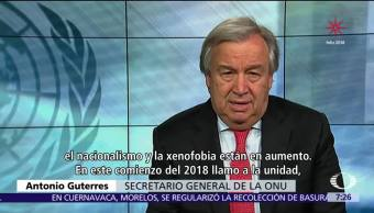 La ONU lanza una alerta global