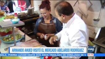 Armando Ahued, por conocer necesidades de la población