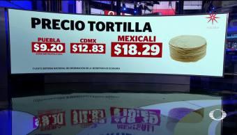 Profeco anuncia sanciones ante el aumento injustificado de la tortilla