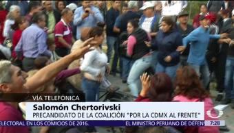 Salomón Chertorivski rechaza actos de violencia