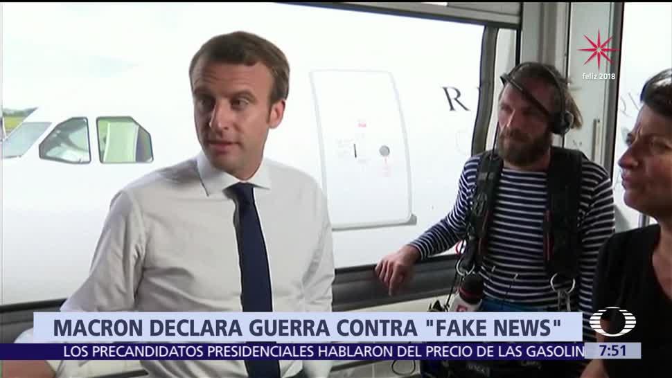 Francia toma acciones contra las noticias falsas en internet