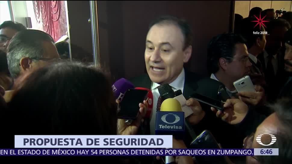 AMLO propone a Durazo para la Secretaría de Seguridad