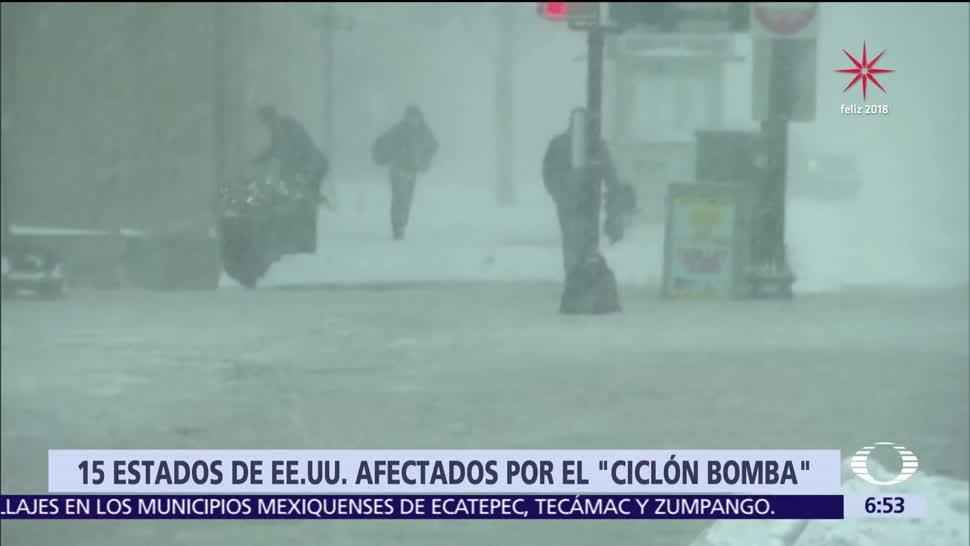 Mueren 17 personas por ciclón bomba, en Estados Unidos