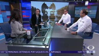 Precandidatos de la coalición La Ciudad al Frente, en Despierta