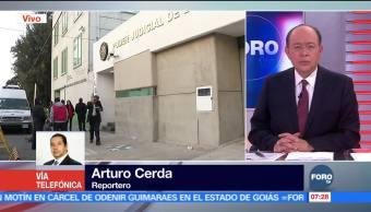 Roberto Borge sigue en instalaciones federales, en Nezahualcóyotl