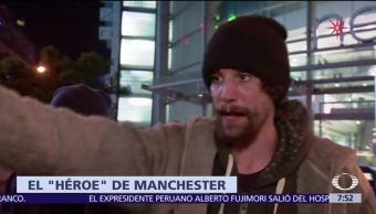 Indigente robó a víctimas del atentado de Manchester