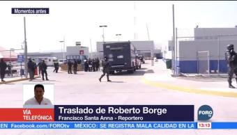 Roberto Borge es trasladado al penal de Michapa, en Morelos