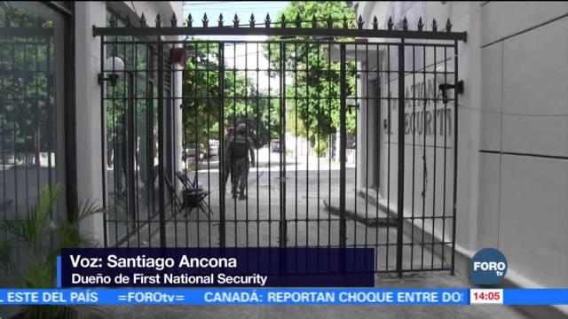 Sigue suspendida devolución de bienes de cajas de seguridad en Quintana Roo