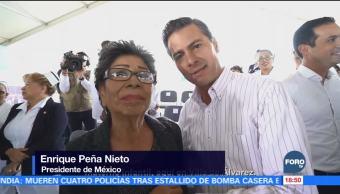 Peña Nieto felicita a los enfermeros en su día