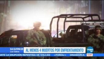 Al menos 4 muertos por enfrentamiento en Baja California Sur