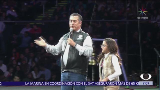 'El Bronco' inicia precampaña en Monterrey como aspirante independiente a la Presidencia