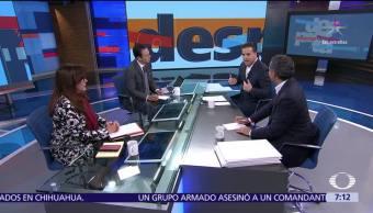 Polevnsky, Ochoa Reza y Zepeda en la mesa de Despierta con Loret