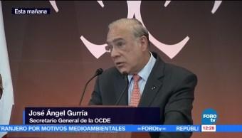 José Ángel Gurría habla de la importancia del TLCAN