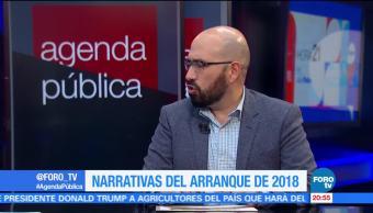 Narrativas del arranque de 2018, con Claudio Flores