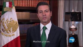Estoy convencido de que 2018 será un gran año para México: EPN