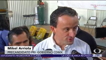 Mikel Arriola critica ausencia de Morena en el 'Pacto de Civilidad'