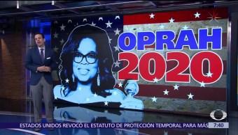 Oprah Winfrey, postulada para la Casa Blanca en 2020