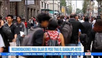 Extra Extra: Cómo bajar de peso tras el Guadalupe-Reyes