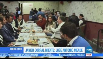 Javier Corral Miente Meade