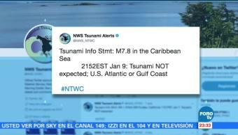 Cancelan alerta de tsunami, tras sismo en Honduras
