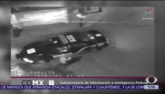 Robo de taxi en Iztapalapa origina persecución policíaca