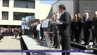 Osorio Chong no aclara si sale o no del gabinete