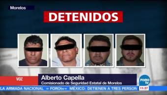 Identifican a presuntos atacantes de cuatro personas en Morelos