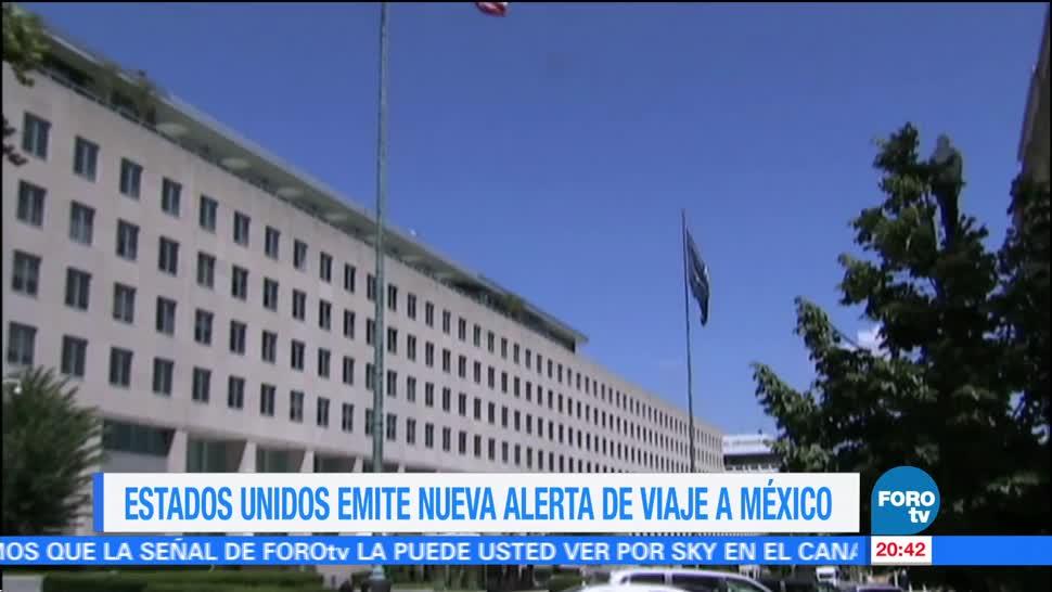 Estados Unidos reduce alertas de viaje a México