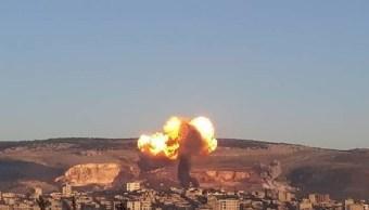 Aviones turcos bombardean el cantón kurdo de Afrin en Siria