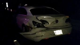 Accidente en la autopista Xalapa-Perote deja 5 lesionados