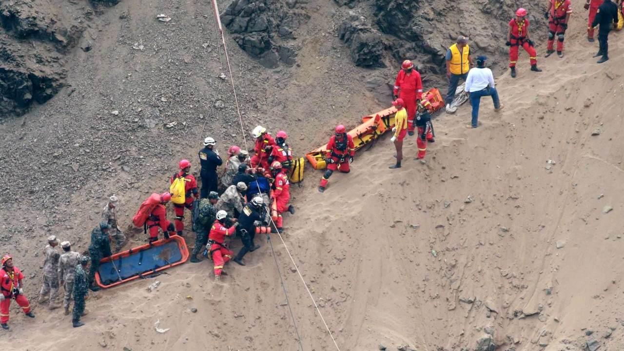 Accidente en Perú deja 48 víctimas