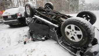 Van 10 muertos tormenta invernal Estados Unidos