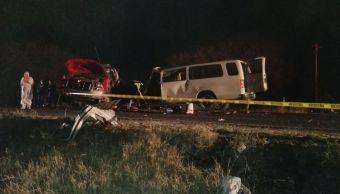 Accidente vial en Guanajuato deja 2 muertos
