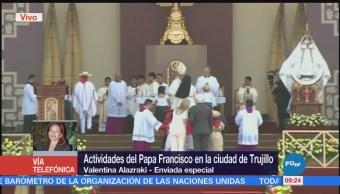 Actividades del papa Francisco en la Ciudad de Trujillo, Perú