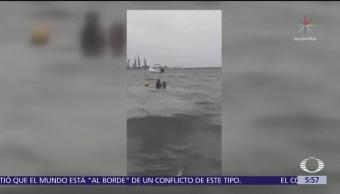 Acusan a mujer de intentar ahogar a sus hijos en Veracruz