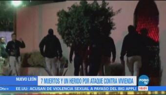 Menos 10 Muertos Hechos Violentos Nuevo León