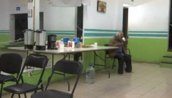 Habilitan albergue ante bajas temperaturas en Oaxaca