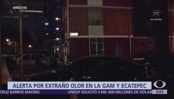 Alerta por extraño olor en la GAM y Ecatepec