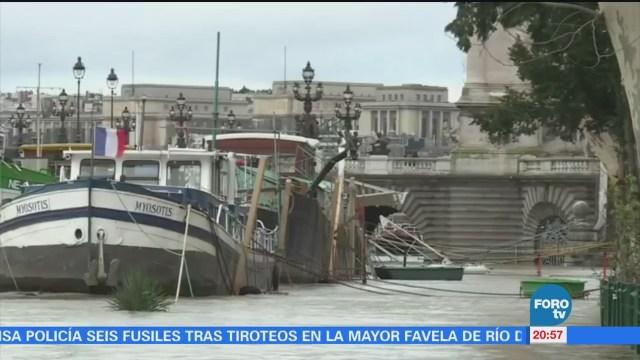 Alerta Niveles Río Sena París