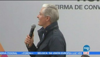 Alfredo del Mazo pide civilidad política ante proceso electoral